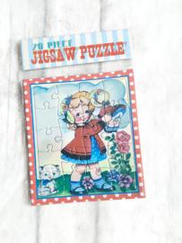 Jigsaw puzzeltje - dolly girl
