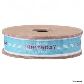 "EI 3224 Band 3 meter spoel ""Happy Birthday to you"