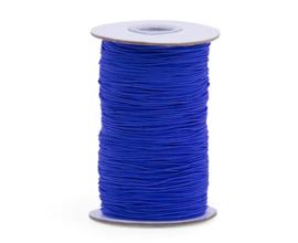 Elastisch koord - inkt blauw | 1mm | 5m