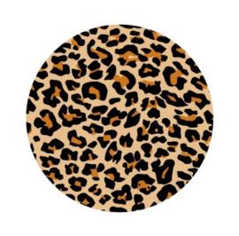 Sticker sluitzegel   Leopard   40mm   20stk