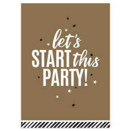 Kaart  - let's start this party