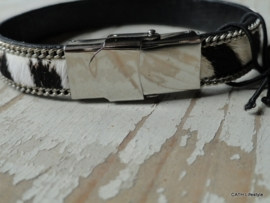 Armband vacht / leer / ut