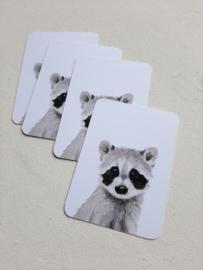 Mini kaart Wasbeer | pstk