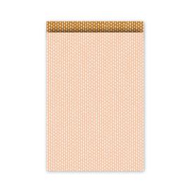 Zakjes | connecting dots - blush roest | 12x19cm | 5stk