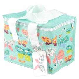 Lunchbag - koeltas / vlinders