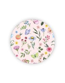 Sticker sluitzegel - Lente bloemen | 35mm | 10stk