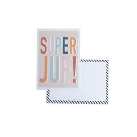 Kaart | Super Juf - incl. envelop