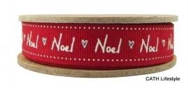 EI 3119 Band 3 meter spoel rood Noel
