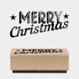 Stempel / Merry Christmas -star / EI 3668