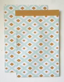 Kadozakje / painted lines / 17x25cm / 10stk