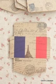 Mini Kraft mini envelopjes /ECO DIY / France Paris