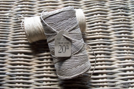 Hemp cord touw spoel naturel / 120m / EI 2975