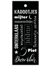 Cadeaukaartje - Sint Maneschijn