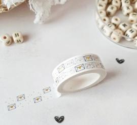Masking tape | envelopjes - goudfolie