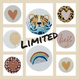 Sticker sluitzegel voordeelset | BSS | 16stuks