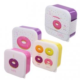 Lunchboxen set Donuts
