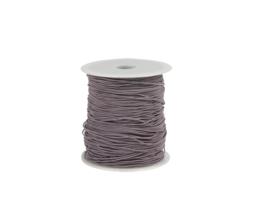 Elastisch koord - lila | 1mm | 5m