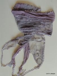 Sjaal | aubergine | ce