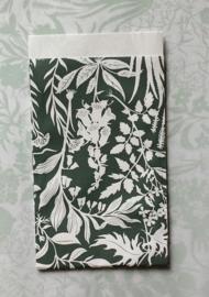 Zakjes botanic garden / forest green / Geertje Aalders / 12 x 19 cm