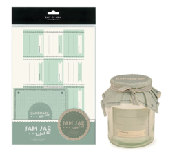 Label kit / weckpot  Jam jar