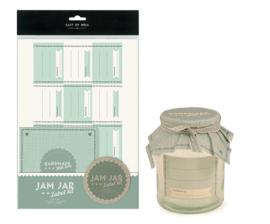 Label kit / weckpot  Jam jar