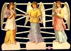 ME 7284 Poezie plaatjes 3 engelen