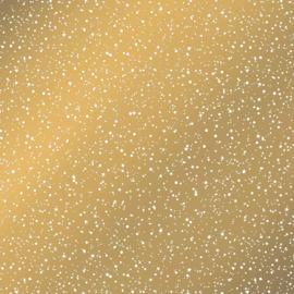 Vloeipapier - tissuepapier - twinkeling stars - gold |  50x70cm | 5stk