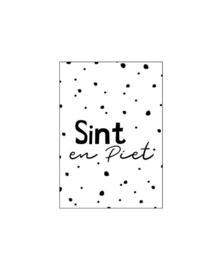Mini - kaartje | Sint en Piet