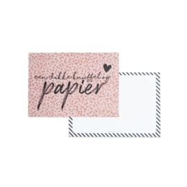 Kaart | een dikke knuffel op papier  - incl envelop