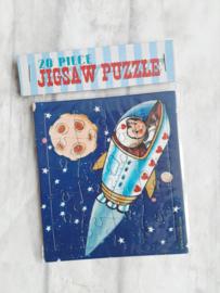 Jigsaw puzzeltje - Astronaut