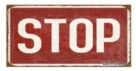 Magneet / Stop
