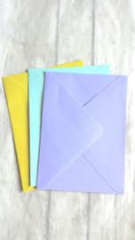 Envelop geel - pstk