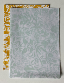Vloeipapier / garden botanical eucalyptus / Geertje Aalders / 50x70 cm / 10 pstk