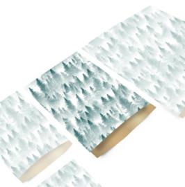 Kadozakje / kerst - forest  / 17x25cm / 5stk