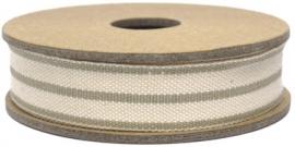 EI 2325 Band 3 meter spoel streep beige /cream