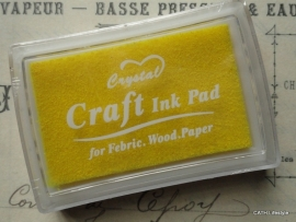 CH Craft stempelkussen geel
