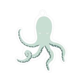 Cadeau label | Octopus