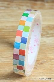 Kawaii Tape / gekleurde blokjes