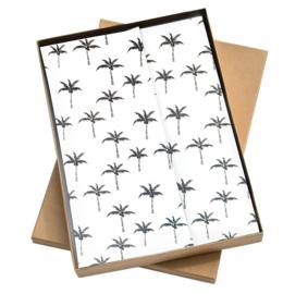 Vloeipapier - tissuepapier - palmboom - 50x70cm | 5stk