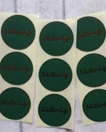 Sticker / Schattepatatje / 15 stk