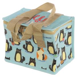 Koeltasje / lunchbag / Feline Fine Kat