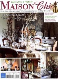 Maison Chic  / tijdschrift / kerst dec. 2015