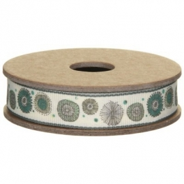 EI 2996 Band 3m spoel flower cream
