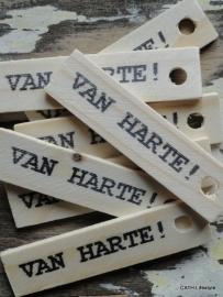 """PZ Label """"Van Harte"""""""