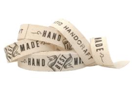 Band / bedrukt / Hand Made / 5m