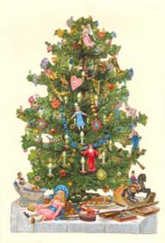 Kaart / Kerstkaart / Kerstboom / ME