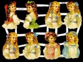 ME 7100 Poezie plaatjes 8 meisjes