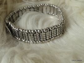 BIBA Armband / zilverkleurig / small