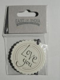 EI 2366 Label Love You