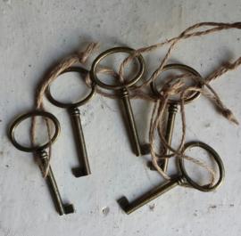 Sleutel / metaal  / per stuk